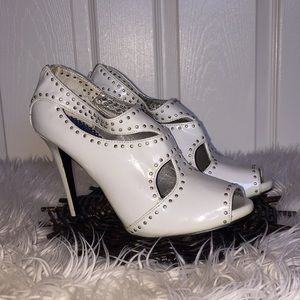 LUICHINY STUDDED GRAY BOOTIES